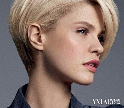 【图】新款2015发型短发女圆脸图片