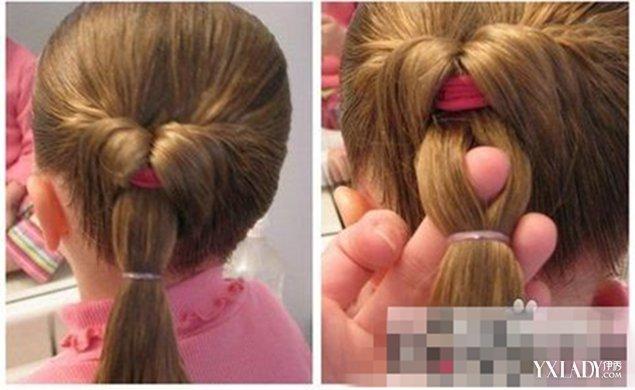 【图】儿童简单发型扎法步骤 充满创意的美感儿童发型