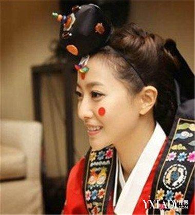 韩国古装发型大盘点 5款发型揭秘韩国女子古装造型