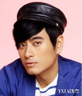 韩式三七分男士发型 男人味十足图片