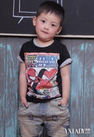 【图】三岁小孩发型图片男