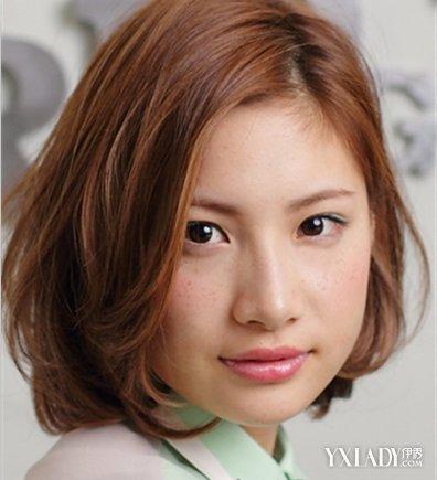 【图】图片齐耳发型短发时尚打造别致的女生韩国的空气刘海图片