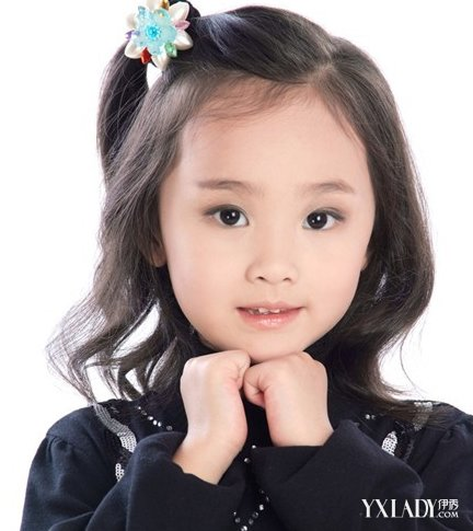 【图】小女孩女生女孩短发呆萌爱惹人爱_大全2018矮个子短发发型图片