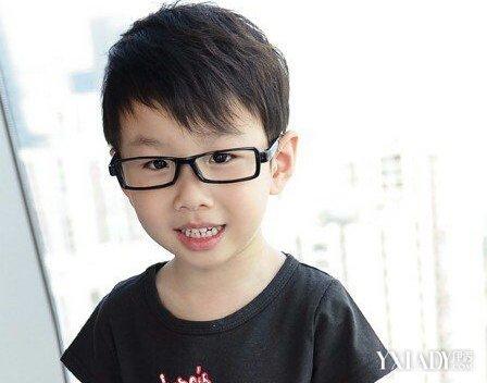 【图】小男孩发型图片大全短发 打造可爱帅气小潮童