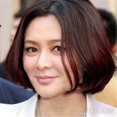 【图】中年女士发型推荐 12款发型让你更显时尚年轻图片
