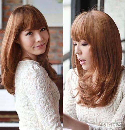 【图】韩式微卷中长发烫发 气质mm首选发型图片