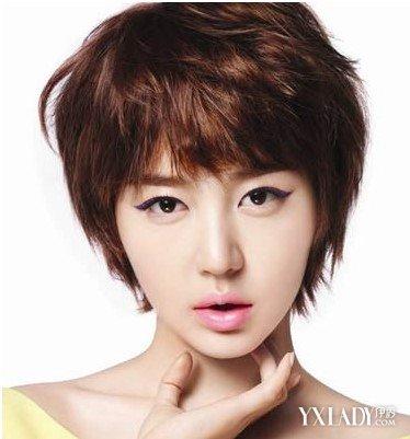 【图】韩国热能图片短发短发烫发造型发型更女星烫发和施华蔻曝光的区别图片