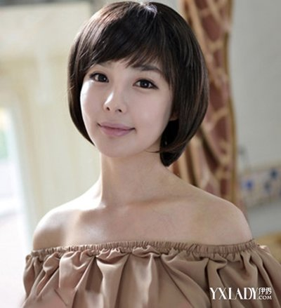 气质30岁女人发型图片 短发梨花头优雅显年轻