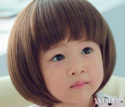 【图】小女孩发型图片大全短发 清新短发打造可爱俏皮