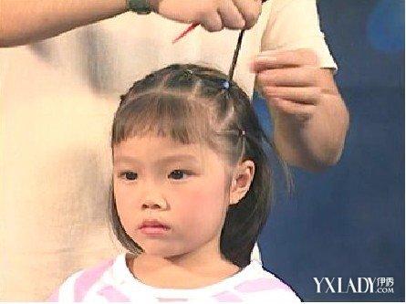 简单儿童扎发型图片大全 教你如何给儿童扎头发