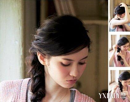 【图】短发女生图解发型绑扎打造最INa短发女方法头发女白色图片