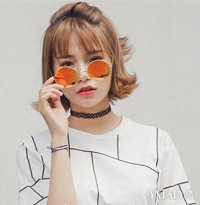 【图】韩式短发刘海空气v短发适合你的夏天发短发秋季穿搭图片