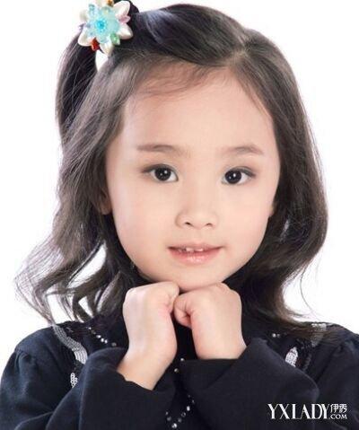 小女孩短发扎发图片 短发儿童编_发型设计