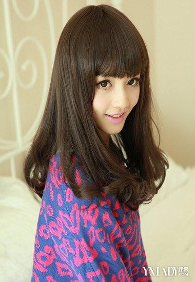 【图】深栗女生头发好看发型短发棕色助你夏天时尚颜色怎么扎好看图片