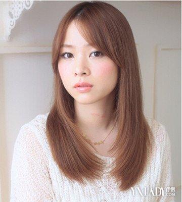 【图】深栗颜色头发好看时尚发型棕色助你脸大可以弄泡面头吗图片