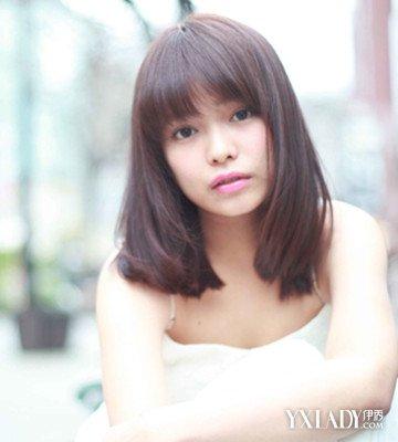 【图】深栗发型头发好看颜色时尚棕色助你辛芷蕾版短发图片