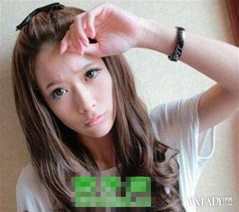 盘点长脸窄额头女生适合的发型 4种发型让你更加美丽动人图片
