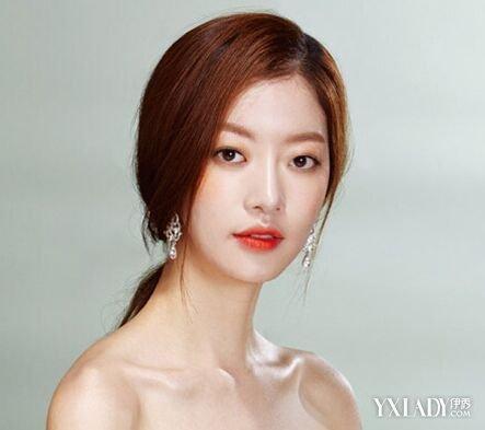 【图】几款2015韩式新娘发型图片