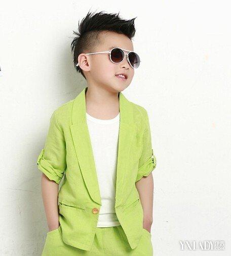 【图】男孩子夏天潮发型v孩子让你的发型有明中长发怎样盘起来好看的宝宝图片