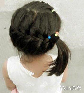 【女童编发扎发步骤图解】张柏芝_发型设计
