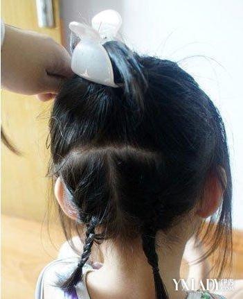 【图】小女孩编辫子发型扎法图解 打造甜美可爱小公主图片