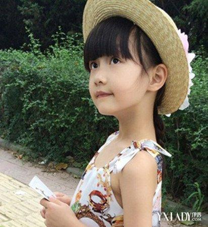 宝宝短发型图片大全女 纪姿含百变发型萝莉范图片