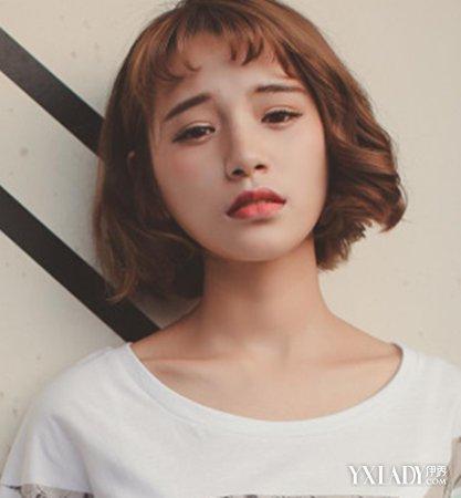 短发造型女图片展示 四款发型韩范气质更胜一筹图片
