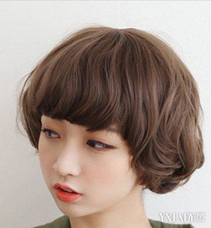 【图】教学发型短发2015女烫发四款视频修颜图片式编发发型瀑布图片