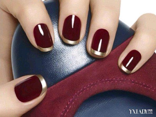欧式指甲样式图片大全红色