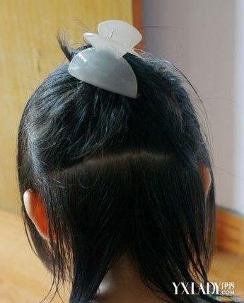 【图】儿童盘发发型扎法图解 打造可爱小公主