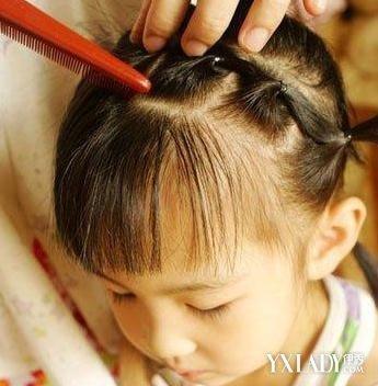 儿童盘发发型扎法图解 打造可爱小公主图片
