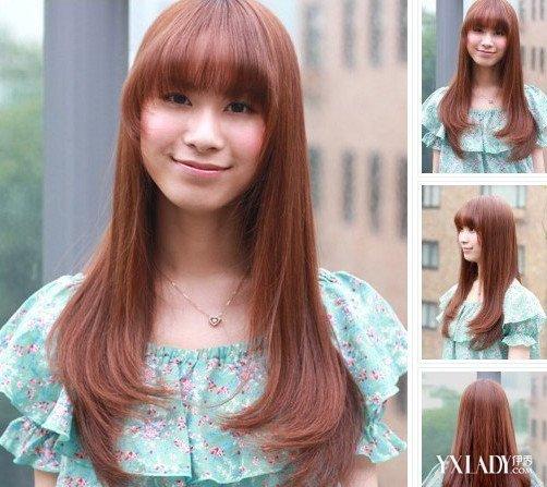 【图】碎发发型图片女中长发 长发更显好气质图片图片