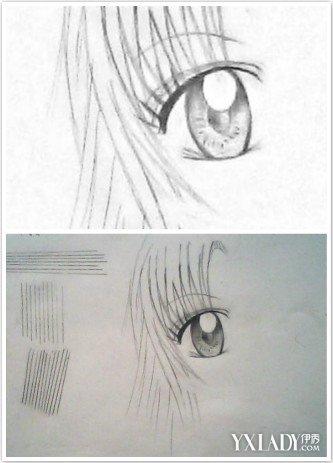 【图】动漫美少女的眼睛画法