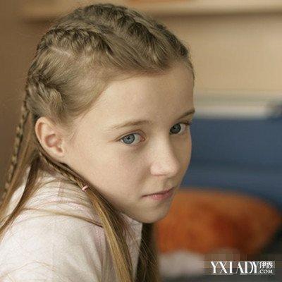 【图】儿童女孩子辫子发型 打造萝莉发型从宝妈学起
