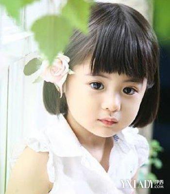 三岁女孩短发发型图片 短发发型把千金变得又萌又时尚图片