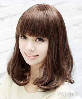 女士发型图片大全2018_看脸型选发型 v118.com