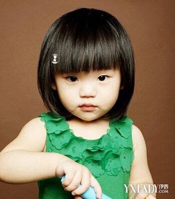 小女童短发发型图片大全 4种时尚小女孩短发推荐