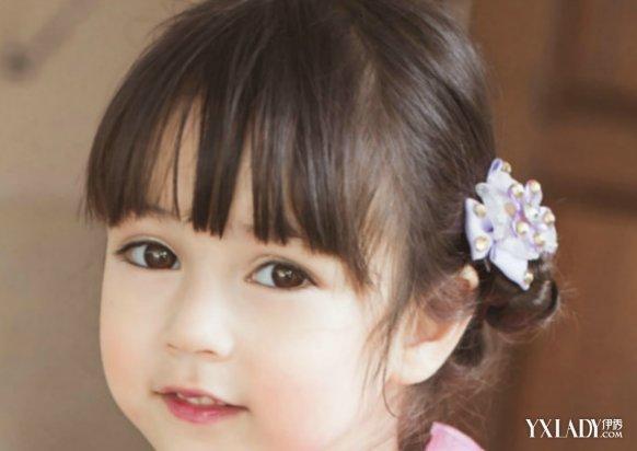 发型小女孩图片推介 5种可爱欧美女孩发型介绍图片