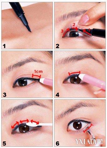 【图】双眼皮眼线的画法大揭秘