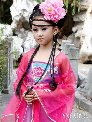 【图】心动儿童公主古装发型图片