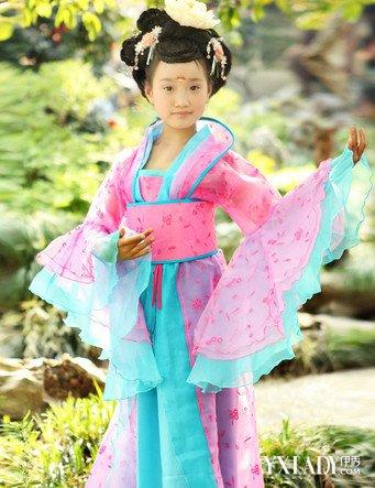 心动儿童公主古装发型 小公主古风造型