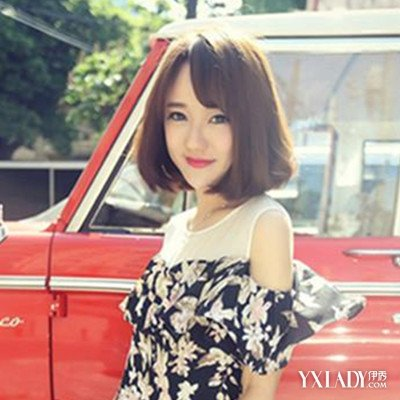 韩式短发烫发发型2015潮女图片