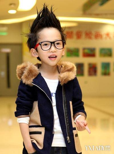 【图】超短儿童发型男 可爱小男孩帅气短发发型图片