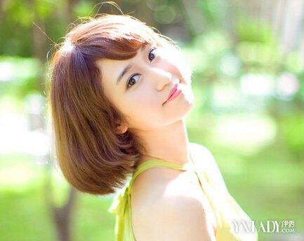 【图】长脸型短发型设计女