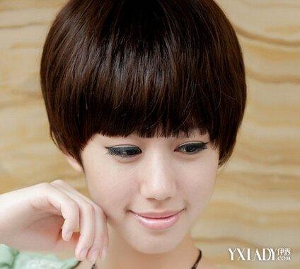 【图】长脸型短发型设计女图片