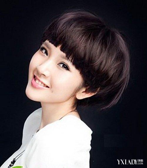 女生蘑菇头发型图片推荐 4款发型显可爱活泼图片