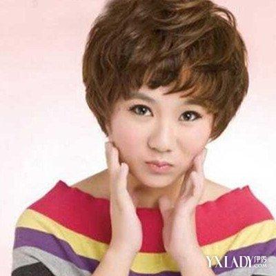 【图】纹理烫发型图女短发 修颜减龄图片