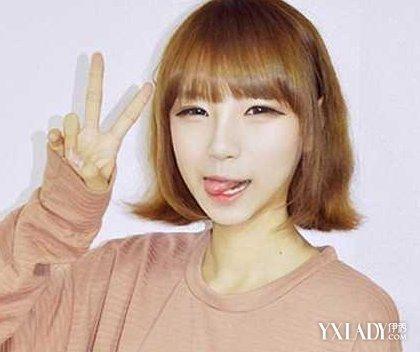 【图】齐耳时尚短发图片上学别致发型感的齐我2发型打造啦去刘敏涛图片