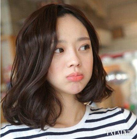 【图】齐肩短发发型图片2018女 韩式齐肩短发诠释女生图片