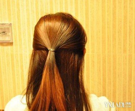 【图】韩式简单发型扎法图解 自己在家diy韩式扎法步骤图片